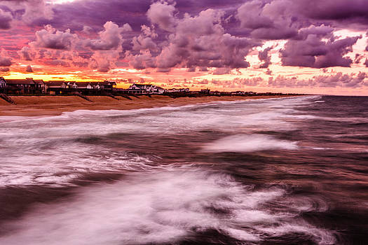Kitty Hawk Sunset by Chris Modlin