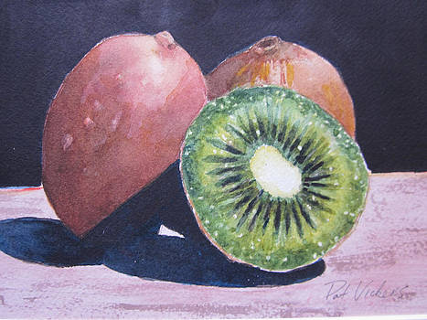 Kiwis by Pat Vickers