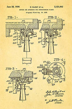 Ian Monk - Kleist Fibreglas Patent Art 1938
