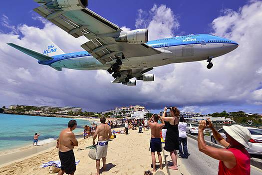 Matt Swinden - KLM Landing at St Maarten 3