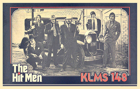 KLMS Hit Men Poster 1975 by Gerald MacLennon