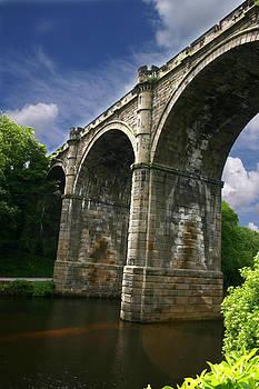 Knaresborough Bridge by Gillian Dernie
