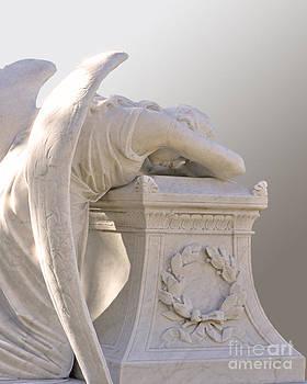 Kneeling Angel by Josephine Cohn