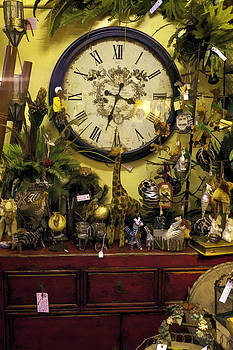 Lynn Palmer - Knick Knacks Clock and Red Dresser