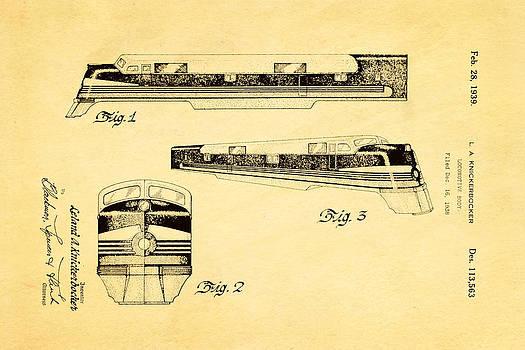 Ian Monk - Knickerbocker Locomotive Patent Art 1939