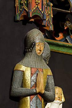 Charles Lupica - Knight in prayer