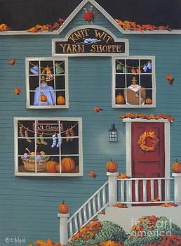 Knit Wit Yarn Shoppe by Catherine Holman