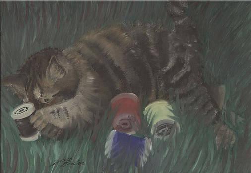 Simon Drohen - Knitten Kitten