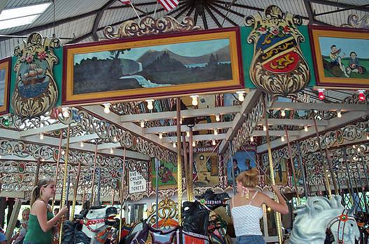 Barbara McDevitt - Knoebels Park Grand Carousel