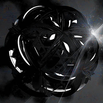 Knotted Ball by Elizabeth S Zulauf