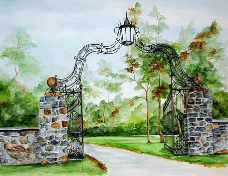 Knox Estate by Ellen Canfield