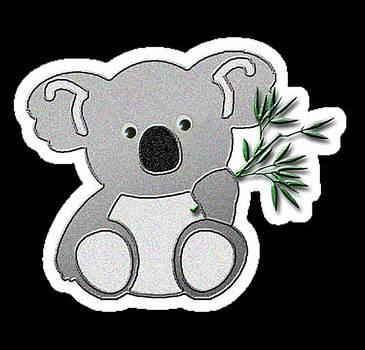 Jeanette K - Koala Bear Sticker