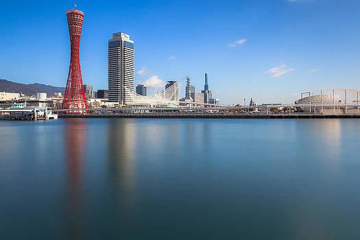 Kobe Port Island Tower by Hayato Matsumoto