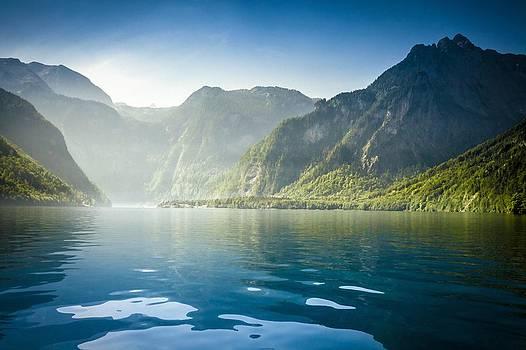Koenigssee in Bavaria by Bjoern Kindler