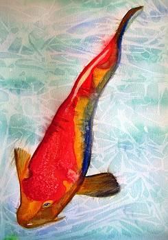Kohaku Koi Orange by Sacha Grossel