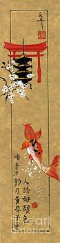 LINDA SMITH - Koi and Torii Gate