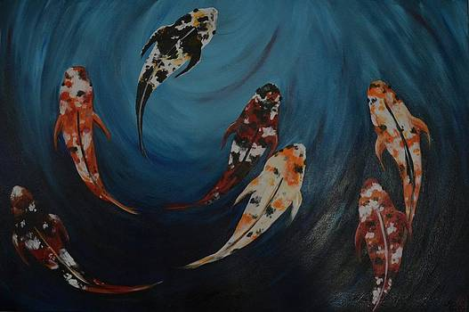 Koi by Holly Donohoe
