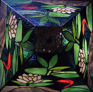 Koi Lampshade by Sherri Anderson