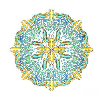 Koi Mandala by Stephanie Troxell