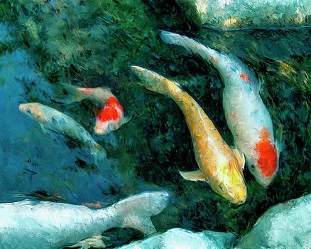 Dominic Piperata - Koi Pond 2
