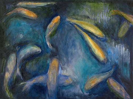 Koi Pond by Deborah Alys Carter