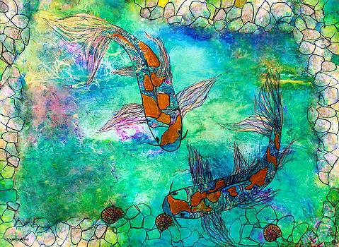 Koi Pond by Janet Immordino