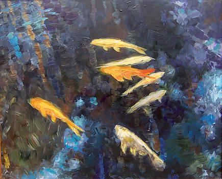 Koi by Susan Moore