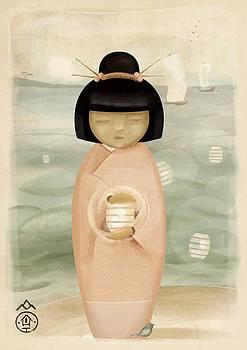Kokeshi O-bon by Patrycja Wrobel