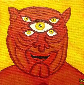 Koko sees you  by Diego  Zegarra