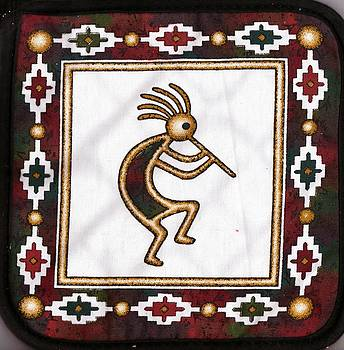 Anne-Elizabeth Whiteway - Kokopelli Potholder