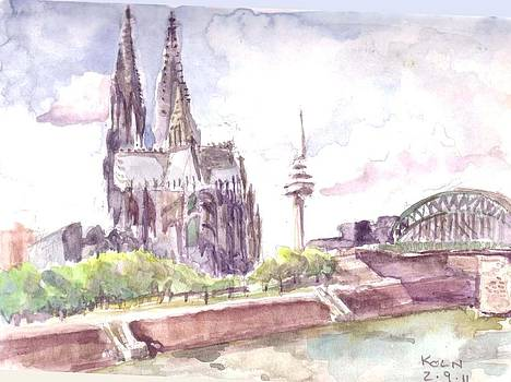 Koln Cathedral by David  Hawkins