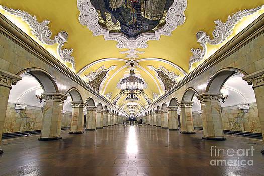 Komsomolskaya Station in Moscow by Lars Ruecker