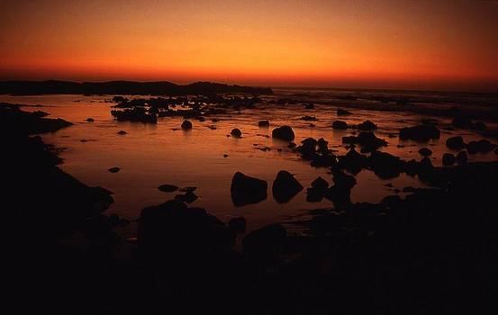 Kona sunset by Dave  Abreu