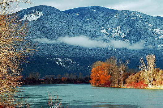Kootenai River by Annie Pflueger