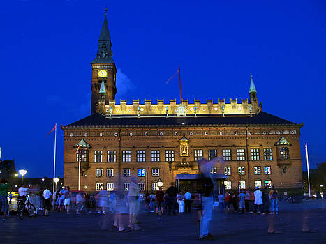 Jeff Brunton - Kopenhavn Denmark Town Hall and Plaza 03
