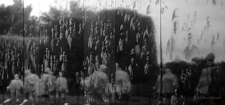 Korean War Memorial by Scott Fracasso