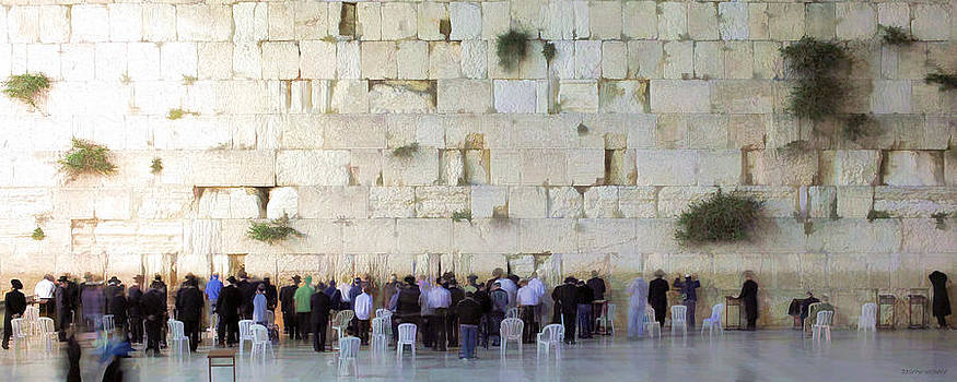 Kotel Photofresco Pano by Joseph Hedaya