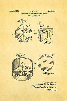 Ian Monk - Kraft Cheese Triangle Patent Art 1951