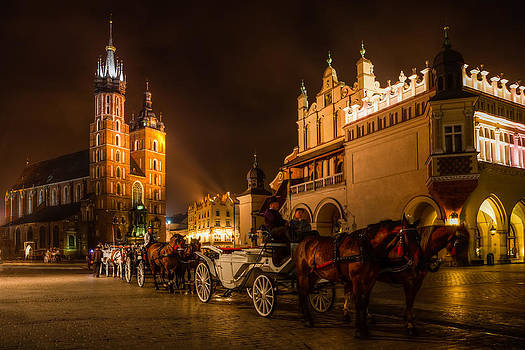 Krakow Old Town by Roman St