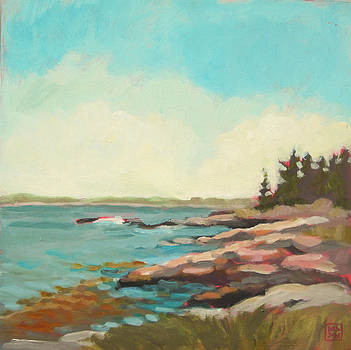 Kresge Point by Mary Brooking