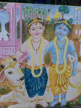 Krishna Balarama by Parimala Devi Namasivayam