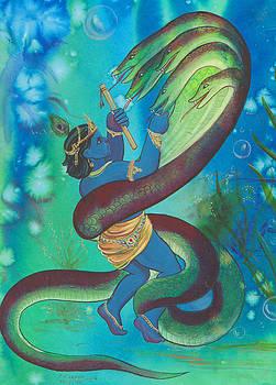 Krishna Fghit Kalinath by Prakash Leuva