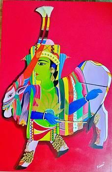 Krishna by Kalpana Somalwar