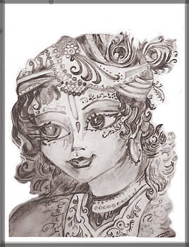 Krishna by Tanmaya Chugh
