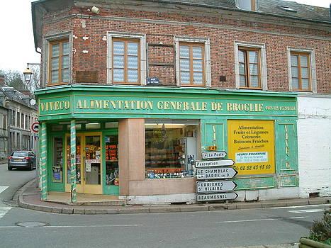 Kruidenierswinkel by Ton Bocxe