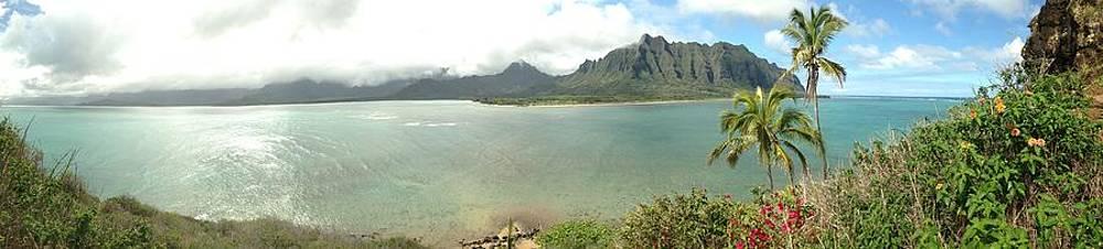 Kualua Kauai Panoramic by Tropigallery -