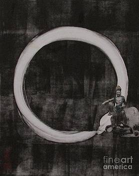 Kuan Yin with Enso by Beth Fischer