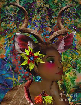 Kudu In The Headlights by Mucha Kachidza