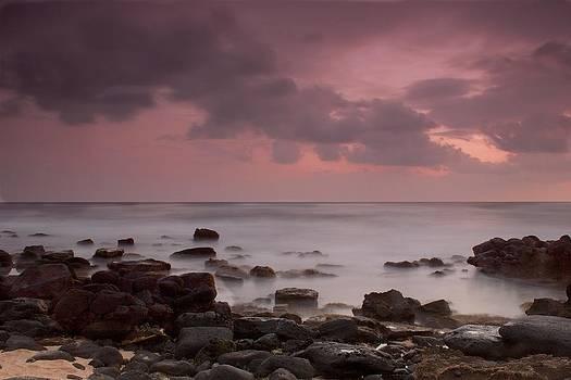 Kukui Ula Sunset by Bonita Hensley