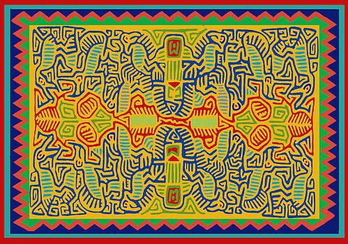 Kuna Bird Spirits by Vagabond Folk Art - Virginia Vivier